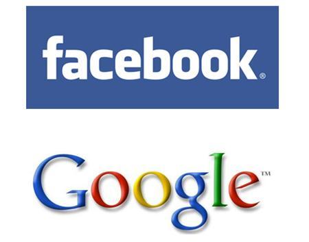 فيس بوك و جوجل