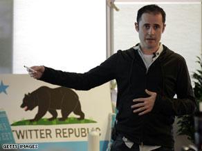 إيفان ويليامز، أحد مؤسسي موقع تويتر