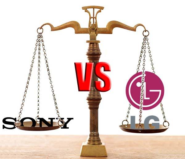 """""""سوني"""" تقاضي """"ال.جي"""" أمام محكمة أمريكية بسبب """"انتهاك"""" براءات اختراع"""