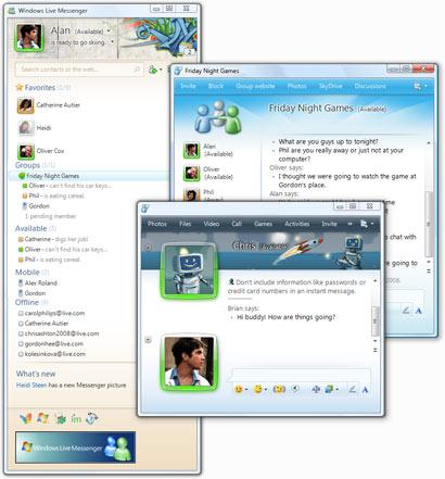 برنامج ويندوز لايف ماسنجر 2011