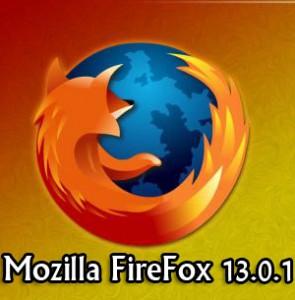 متصفح MoZilla FireFox 13.0.1
