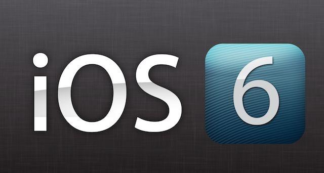 أعلنت آبل عن نظام iOS 6 في مؤتمر WWDC