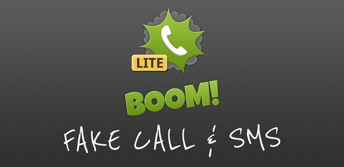 BOOM! Fake call and SMS Lite